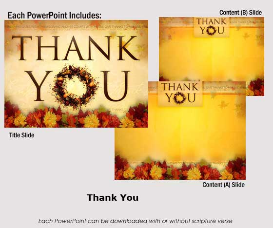 thank you images for ppt. Thanksgiving Powerpoints